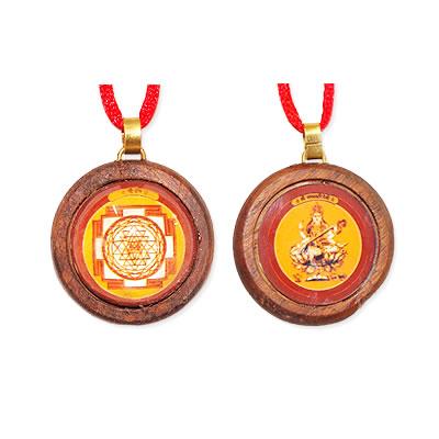 Sri & Saraswati Yantra Locket
