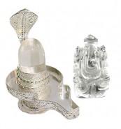 Spatik Linga & Ganesh